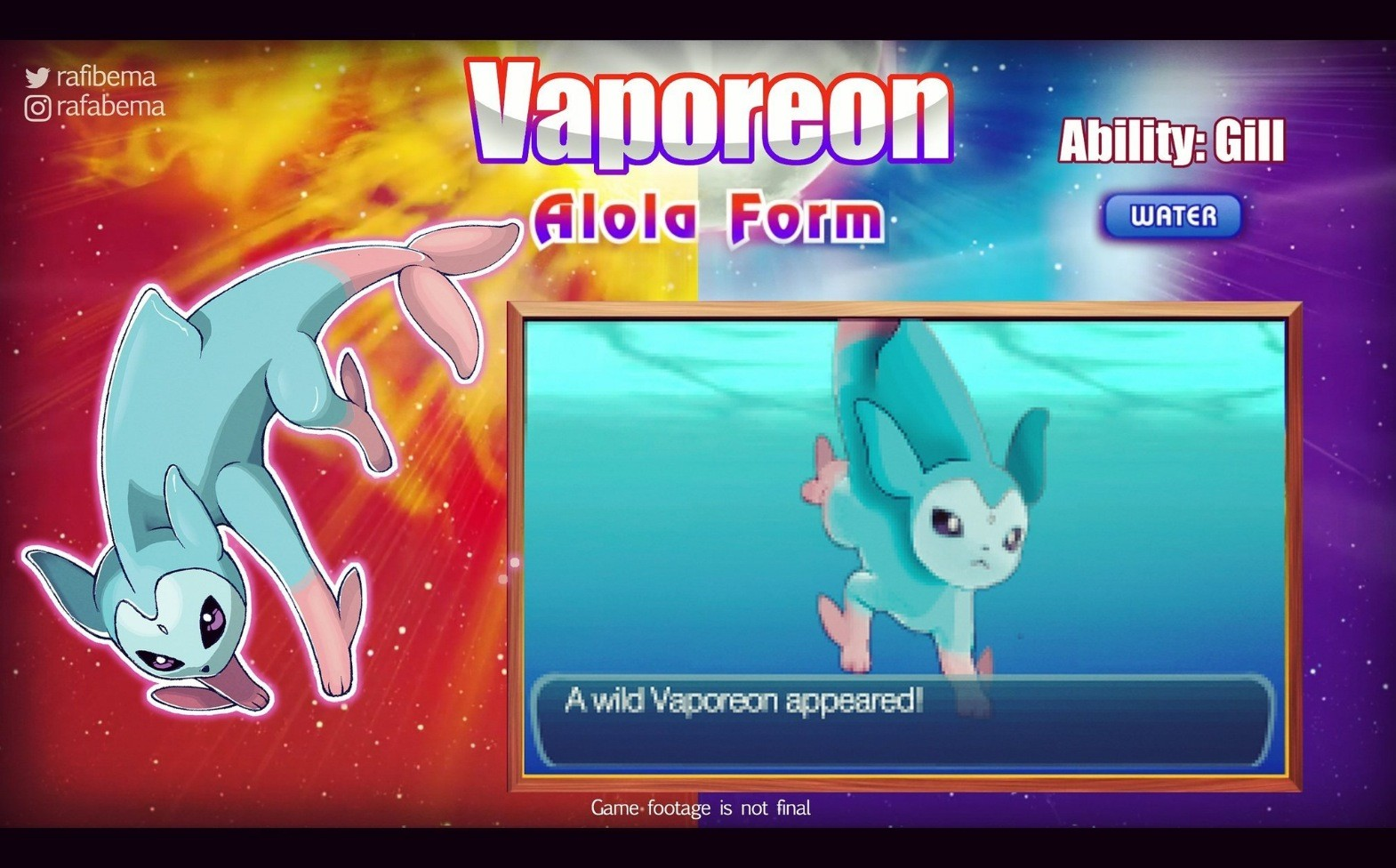 Artistas arremeten con sus propias formas Aloha para Pokemon sol y luna
