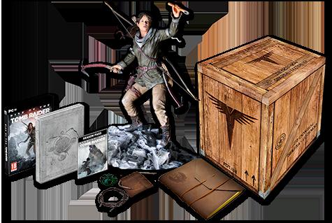 Se-flintra-la-confirmación-de-la Rise-of-the-Tomb-Raider-Collectors-Edition- para-PlayStation-4-gamersrd