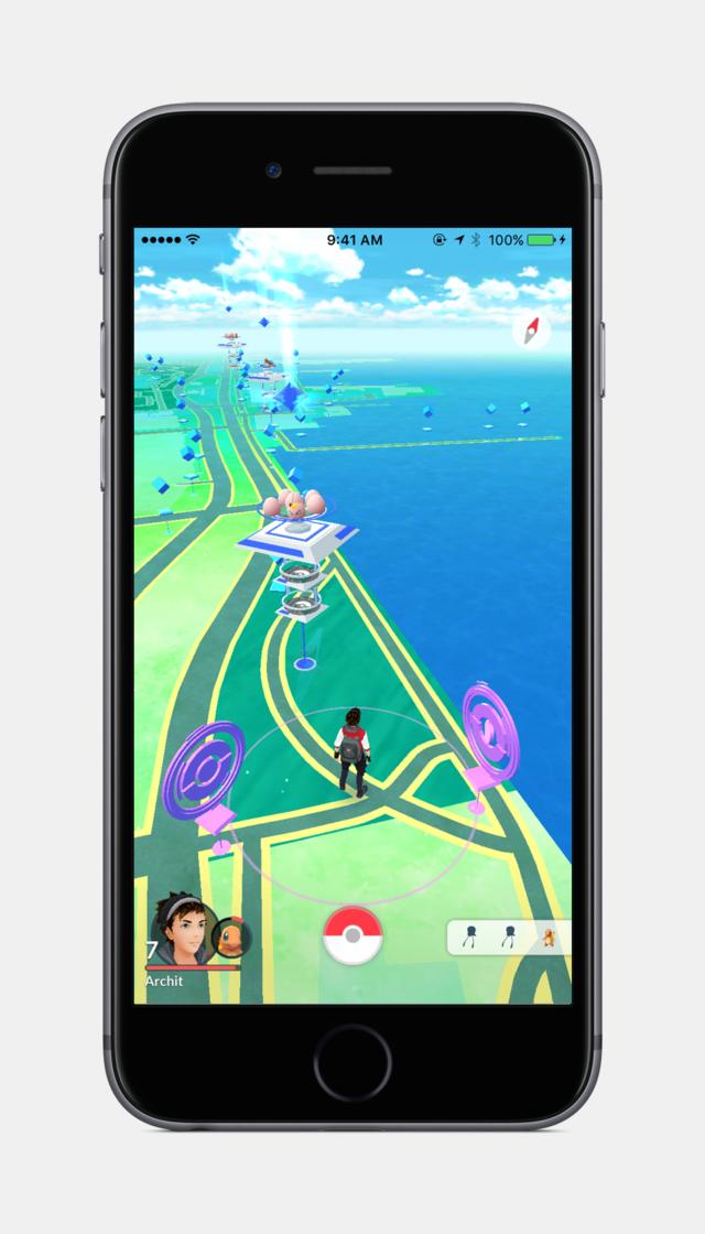 Pokemon GO nos permitirá caminar junto a nuestros Pokemones