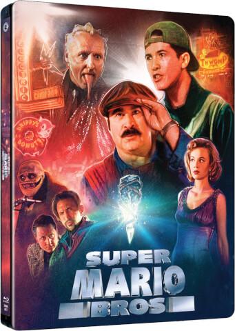 La pelicula de Super Mario Bros contará con edicion Blu-Ray y Steelbook