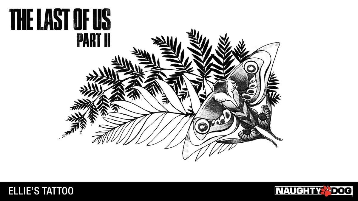 Tatuaje de Ellie 2 The Last of us 2 GamersRD