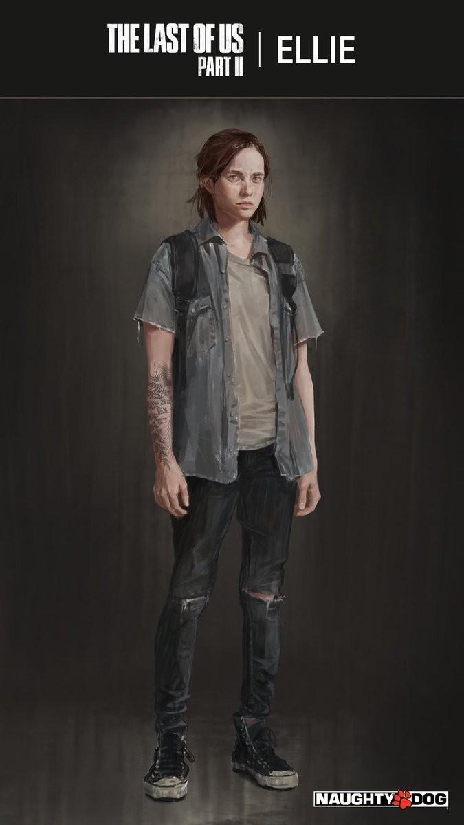 Tatuaje de Ellie The Last of uS 2 GamersRD