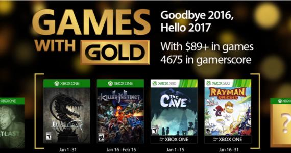 Estos son los Games with Gold de Enero-GamersRD