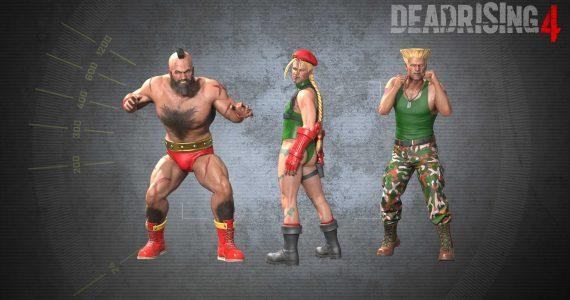 La actualización Dead Rising 4 agrega trajes de Street Fighter -GamersRD