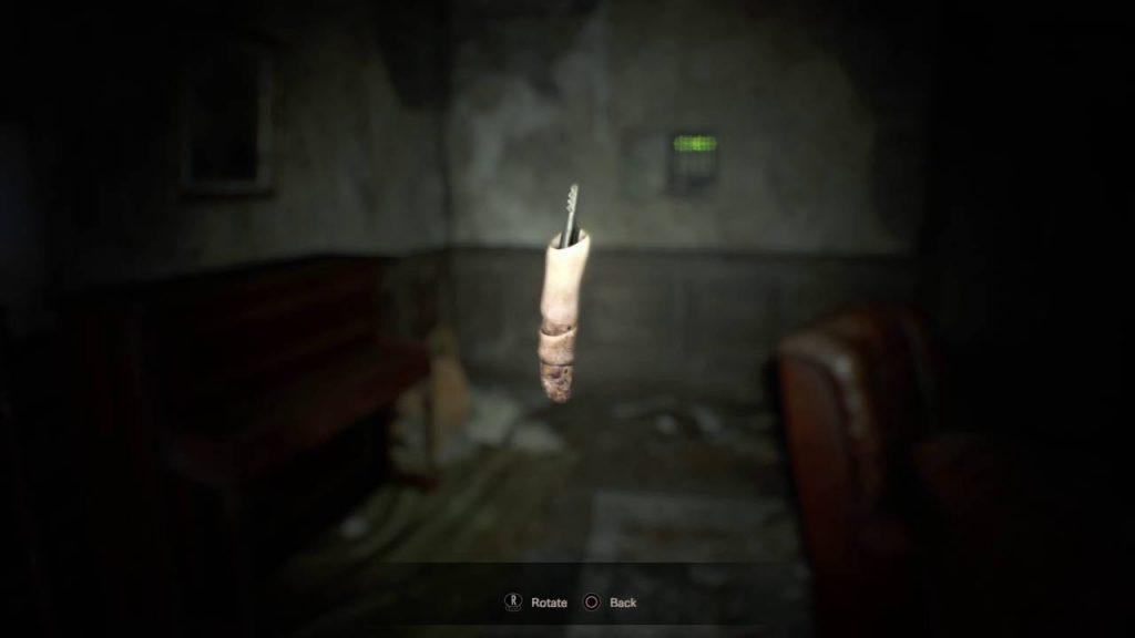 Mira el extraño 'dedo-USB' de la edición coleccionista -1-de Resident Evil 7 -GamersRD