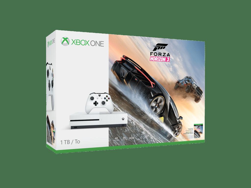 Mira los nuevos bundles de Forza Horizon 3 de Xbox One S-GamersRD
