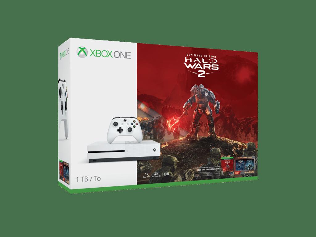 Mira los nuevos bundles de Halo Wars 2 Xbox One S -GamersRD