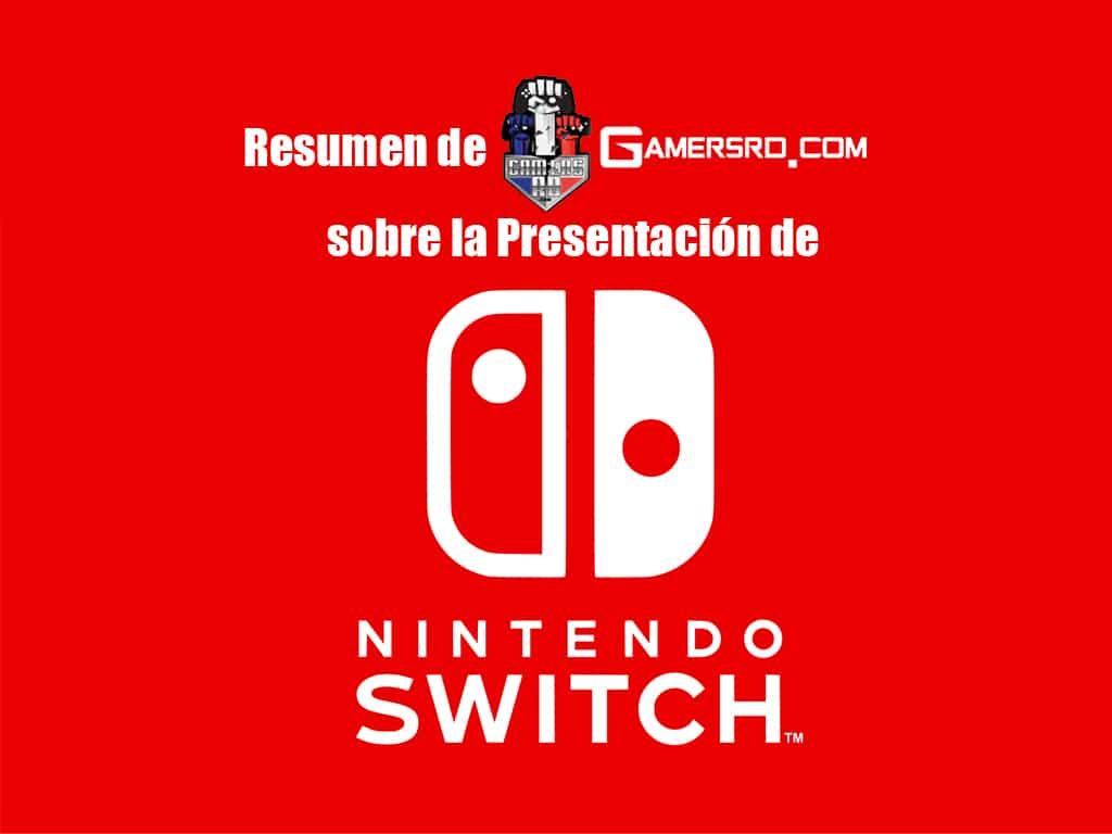 resumen de la presentaci 243 n consola nintendo switch