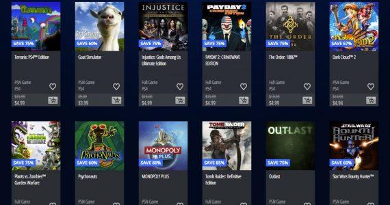 Venta Flash en Playstation Store con juegos como Outlast a $4.99-GamersRD