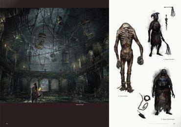 Algunas páginas bestiales se revelan del libro de arte oficial de Bloodborne-GamersRD