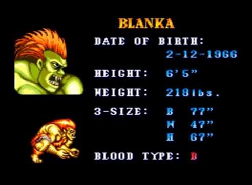 Blanka cumple 51 añ0os-GamersRD