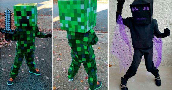 Crea tu propio disfraz de Minecraft-GamersRD