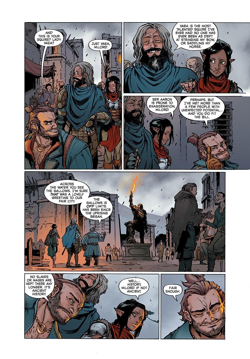 Dragon Age: Knight Errant nos lleva de nuevo a Kirkwall