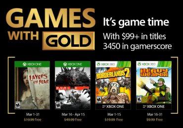 Games With Gold de Marzo 2017 anunciados GamersRD