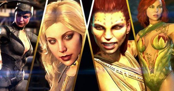 Injustice 2 confirma tres nuevos personajes Cheetah, Catwoman y Poison Ivy