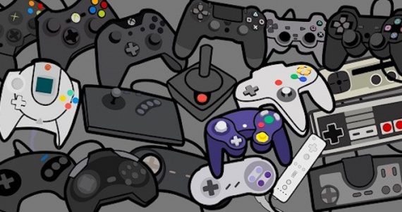 La historia de los videojuegos a través de sus controles-GamersRD