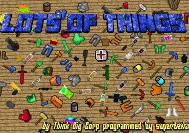 Lots of Things Mod para Minecraft 1.11 y 1.11.2-GamersRD