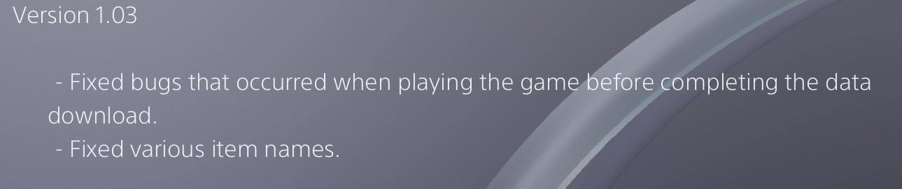 """NieR: Automata actualización 1.03 PS4 corrige nombre de """"NIN64"""""""