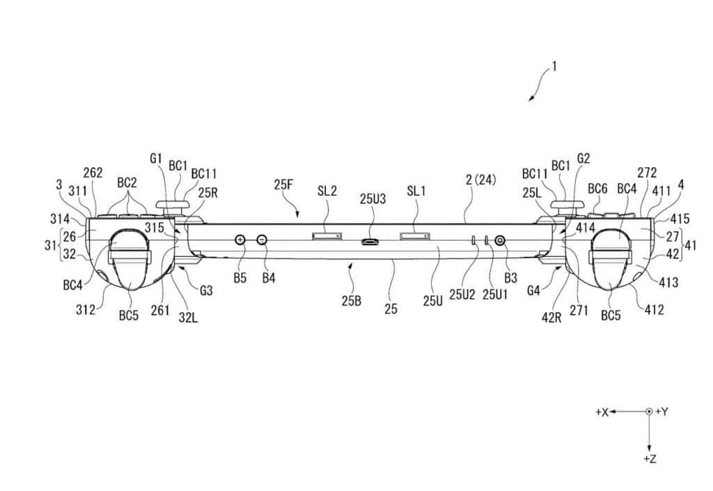 Sony patenta una nueva consola portátil parecida a Nintendo Switch-4-GamersRd