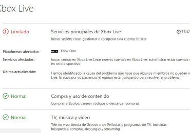 Xbox Live esta fuera de servicio Gamersrd
