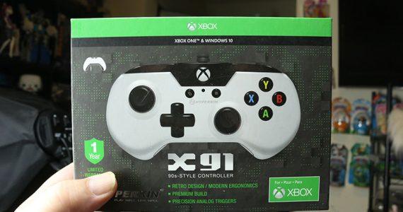 Este es el pequeño control de Xbox One GamersRD
