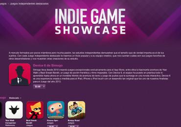Apple agrega sección Indie Games a su tienda App Store gamersrd