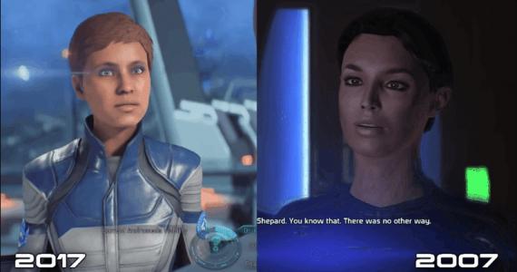 Los fans se quejan de las animaciones de Mass Effect: Andromeda