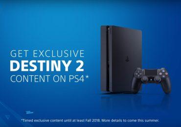 Destiny 2 exclusivo para PS4-Raccoon Knows