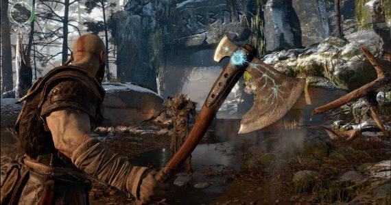el Hacha de Kratos