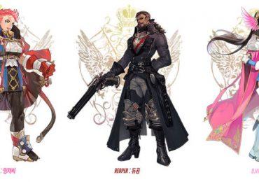 Personajes de Overwatch como Heroes de Final Fantasy GamersRD