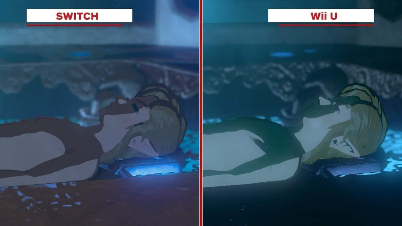 Comparación Zelda: Breath of the Wild Switch vs. Wii U GamersRD