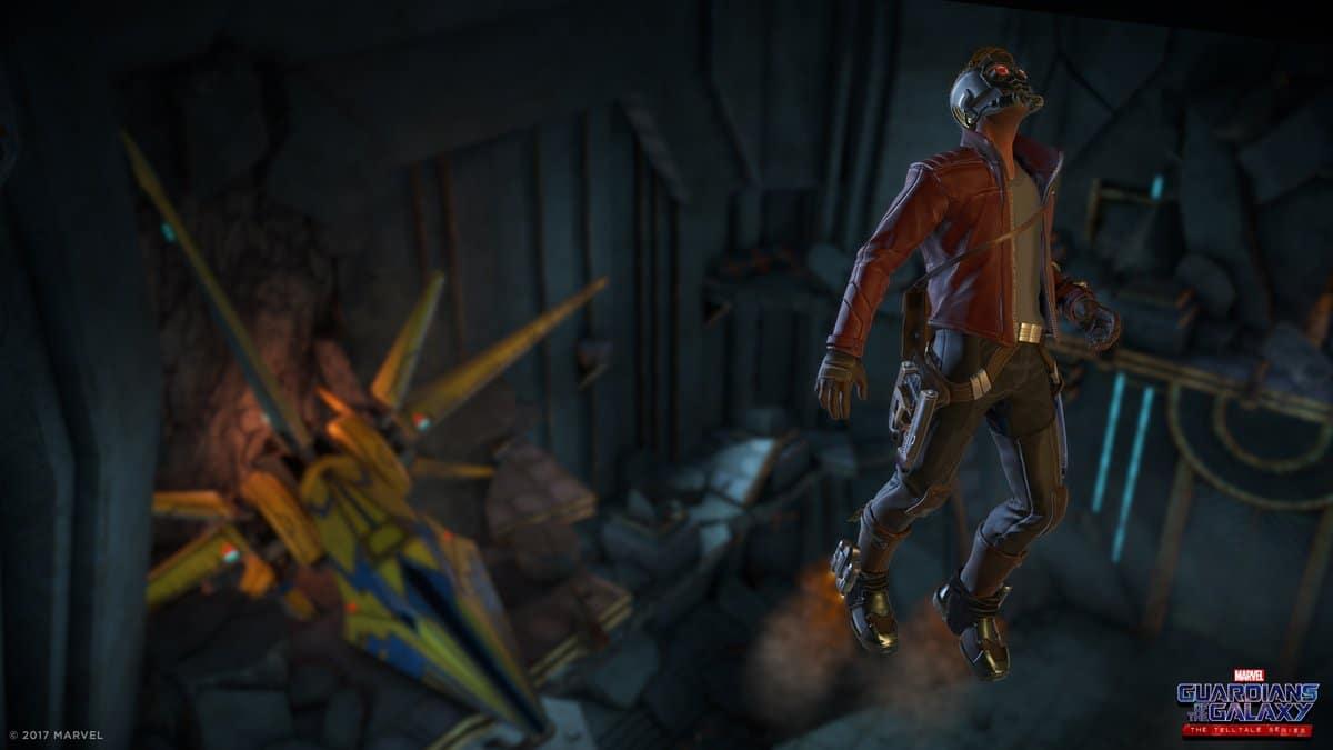 Telltales Games revela primeras imágenes de Guardianes de la Galaxia