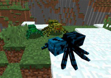 Much More Spiders Mod para Minecraft 1.11 y 1.11.2-GamersRD