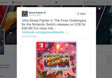 Precio y fecha de lanzamiento de Ultra Street Fighter II de Switch confirmados