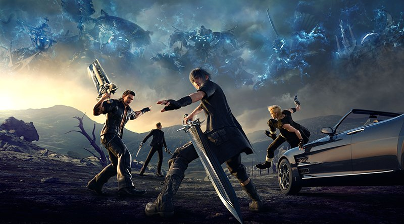 Square Enix lanzo la actualización 1.08 de Final Fantasy XV