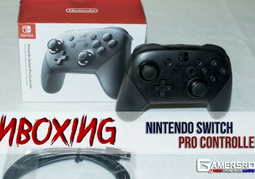 Unboxin Nintendo Switch Pro Controller GamersRD