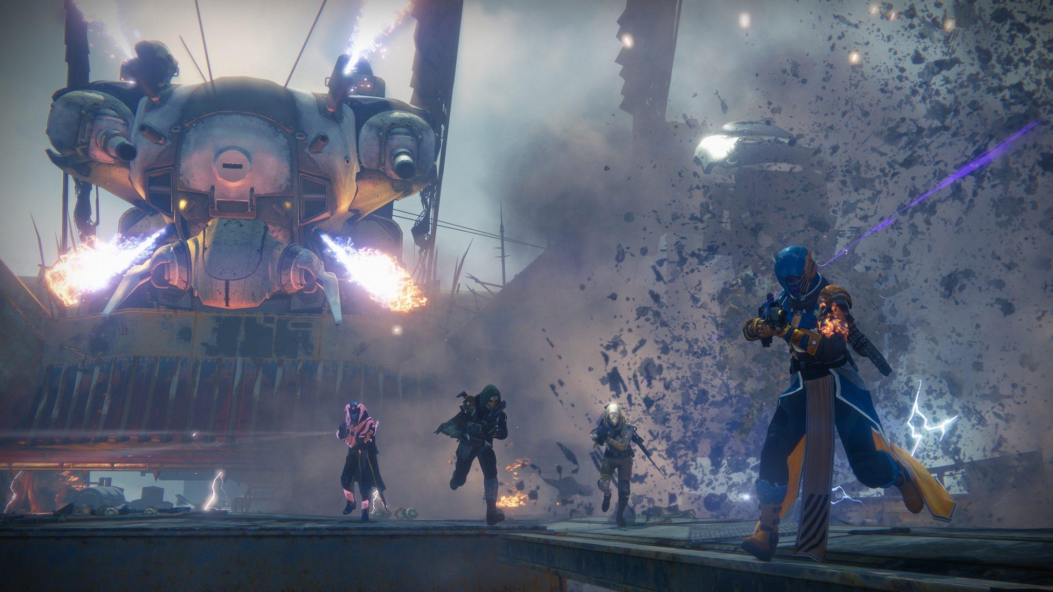 Wraith of the Machine es el mejor raid de Destiny que he visto hasta ahora