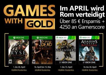 Se filtran los Games with Gold de abril
