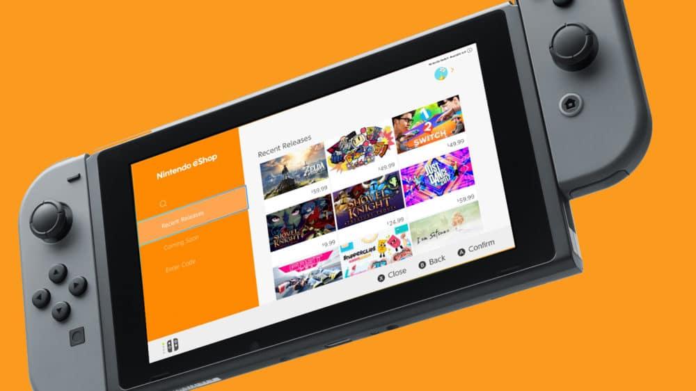 eShop -Nintendo Switch-GamersRD