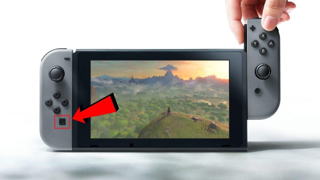 nintendo-switch-screenshot-button-boton de compartir-GamersRD