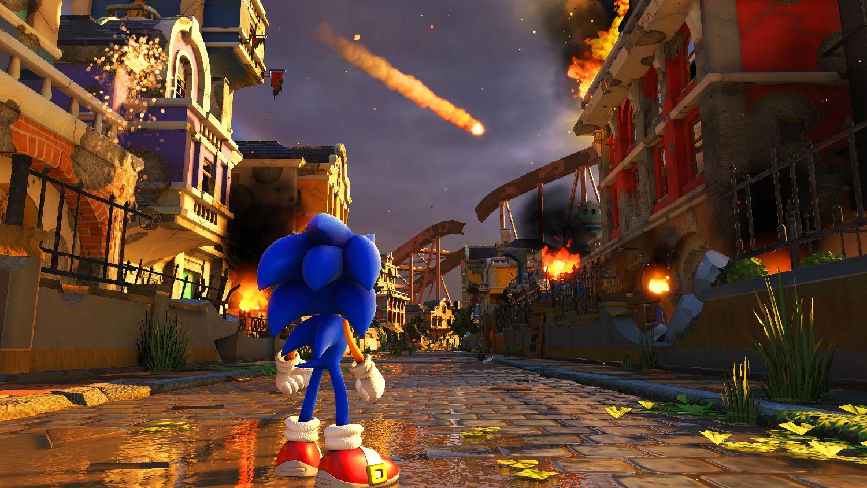 Sonic Force con el estilo 3D de los Sonic Colors y Generations