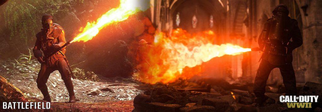 Comparacion Call od Duty WWII vs Battlefield 1-2-GamersRD