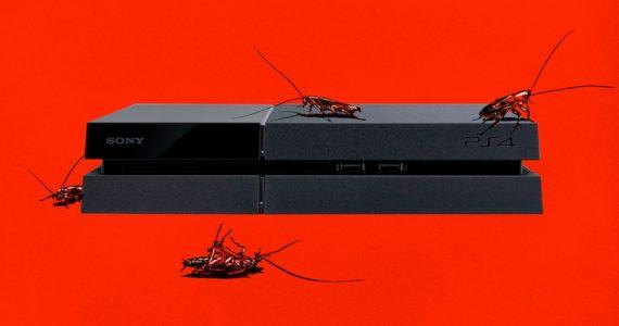 Cuidado! Tu Playstation 4 podría tener cucarachas -gAMERSrd