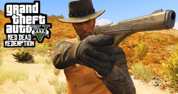 Take-Two Cancela mod del mapa de Red Dead Redemption en GTA 5 GamersRD