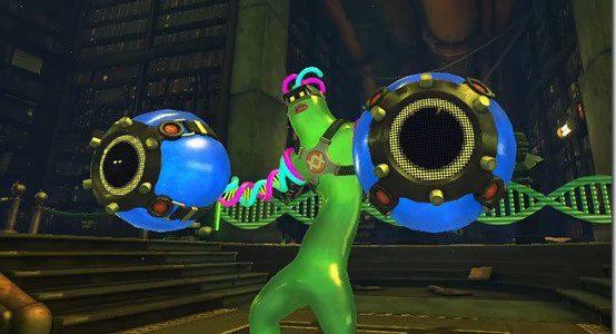 Nuevo personaje Helix de ARMS es básicamente una fusión de Gumby y Flubber GamersRD