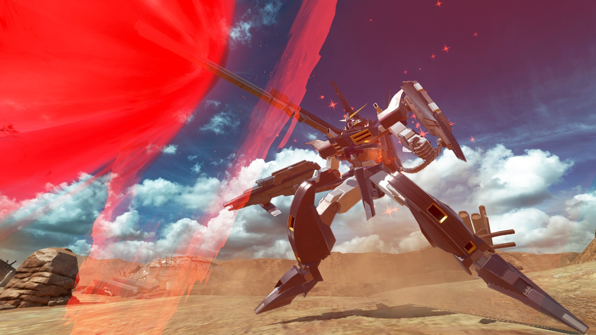 Mira este trailer gameplay de Gundam Versus