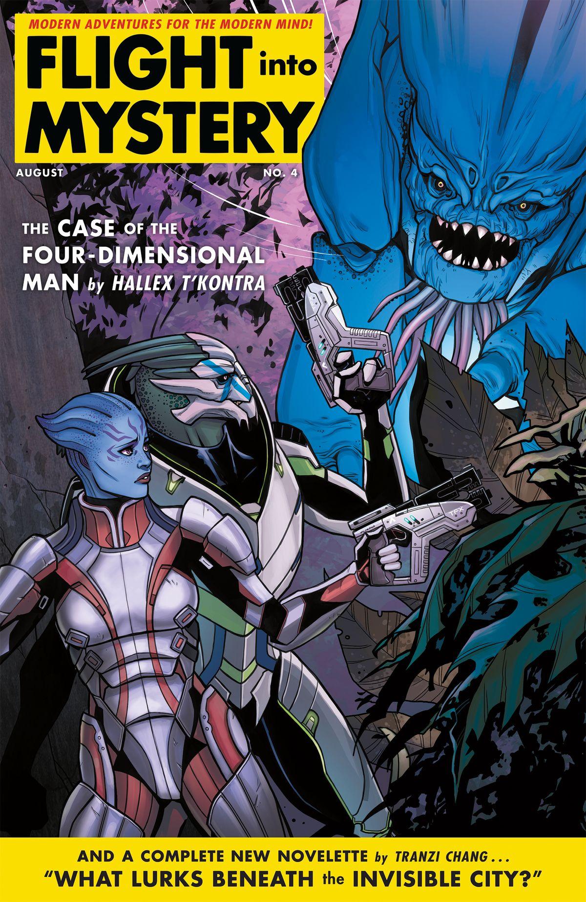 Chequea estas imágenes del comic de Mass Effect: Andromeda
