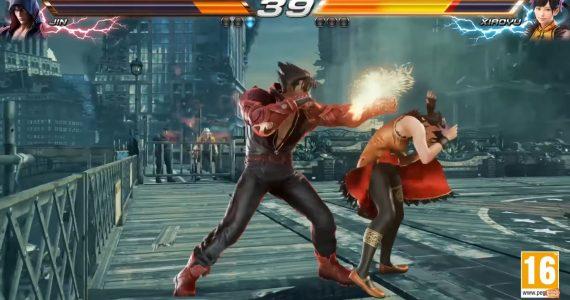 Mira el nuevo gameplay de Tekken 7 donde se enfrentan Jin y Xiaoyu-GamersRD