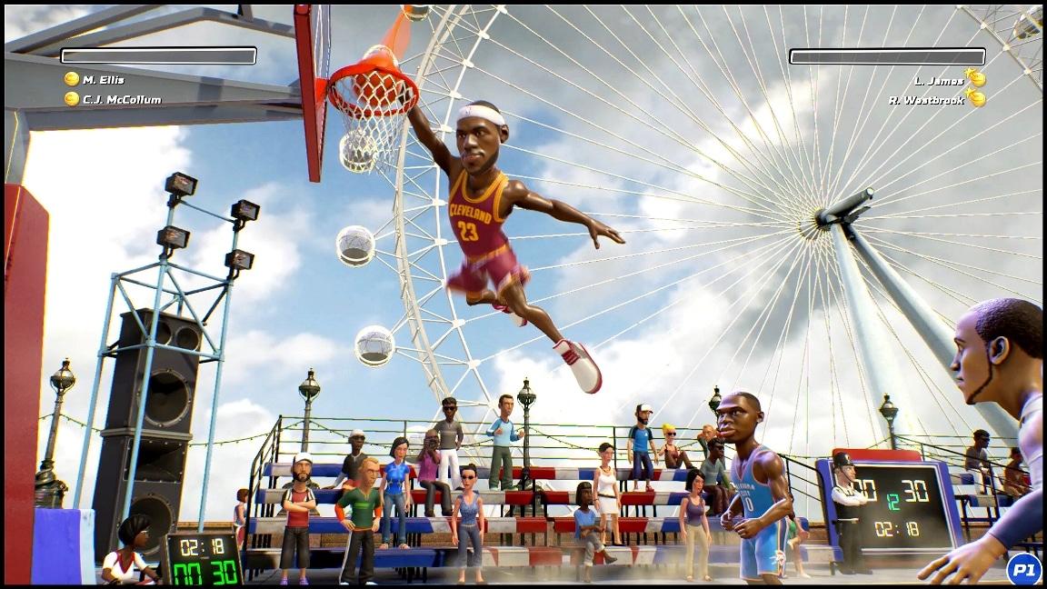 Revelan la lista completa de NBA Playgrounds