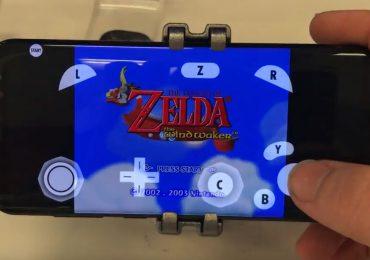 Samsung Galaxy S8 que ejecuta el emulador Dolphin para GameCube y Wii-GamersRD
